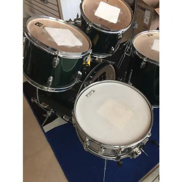 Custom CB Percussion SP Series Five Piece Drum Set  Green