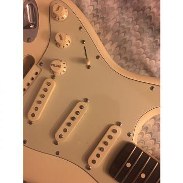 Custom Fender lefty Stratocaster Mint green pickguard