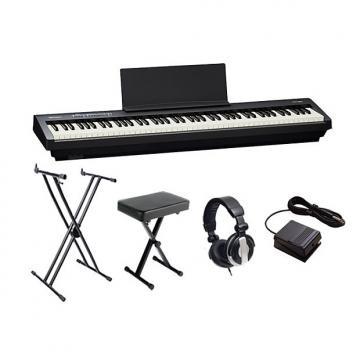 Custom Roland FP30 Black Digital Piano Bundle
