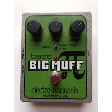 Custom Electro-Harmonix Bass Big Muff Pi 2000s green