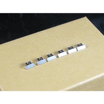 Custom Saddles for US Gibson ABR-1 Tuneomatic Set of 6 Nickel BP 0535-001