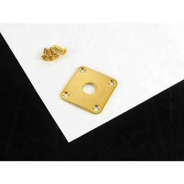Custom Allparts Jackplate for Les Paul Gold w/ Screws AP 0633-002