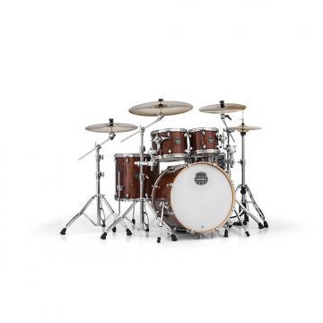 Custom Mapex Armory Series 5-Piece Jazz/Rock Shell Pack Transparent Walnut, AR529SWT