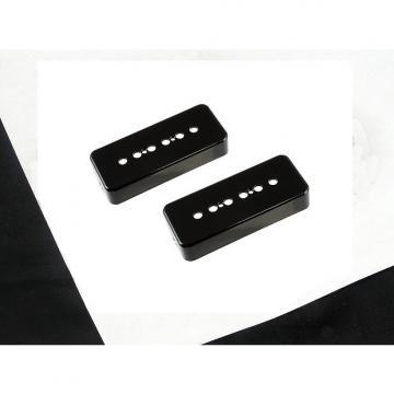 Custom Allparts P90 Soapbar Pickup Covers Set of 2 Black PC 0746-023
