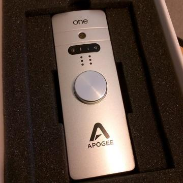 Custom Apogee Apogee One for Mac - Excellent!