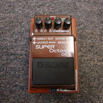 Custom Boss OC-3 Super Octave Pedal