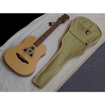 Custom LUNA Safari Trinity acoustic Travel 3/4 size GUITAR new w/ GIG BAG - Spruce