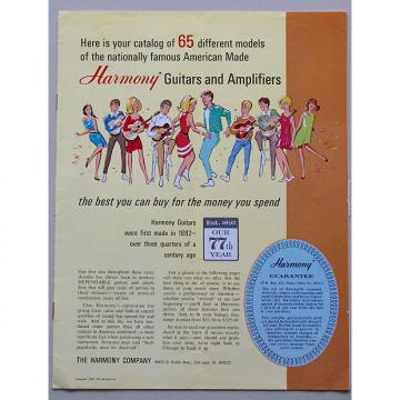 Custom Harmony 1969 Guitar & Amp Catalog