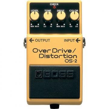 Custom BOSS OS-2 OverDrive/Distortion Pedal