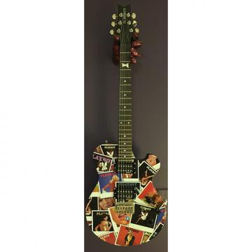 Custom Playboy Steve Clayton Complete Guitar Package: Playboy Covers Collage Graphic Guitar