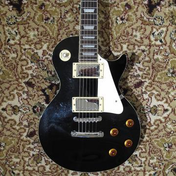 Custom Epiphone Les Paul Standard 2006 Black w/ Hardshell Case