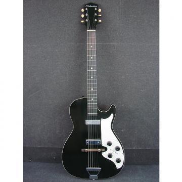 Custom Vintage 1963 Silvertone Model 1420 Stratotone Electric Guitar