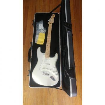 Custom Fender American Standard Stratocaster  2008 Blizzard Pearl SSS RARE color