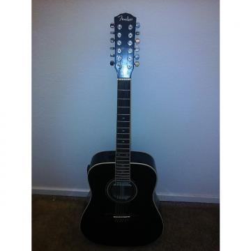 Custom Fender DG-16 12-String Black