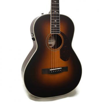 Custom Fender PM-2 Deluxe Paramount Series Parlor Acoustic-Electric Guitar w/ Case - Vintage Sunburst
