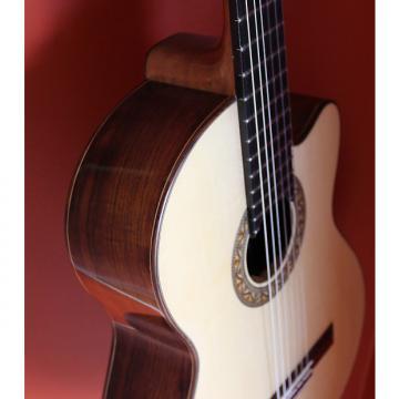 Custom Dan Kellaway Cut-a-way classical 2014 Natural