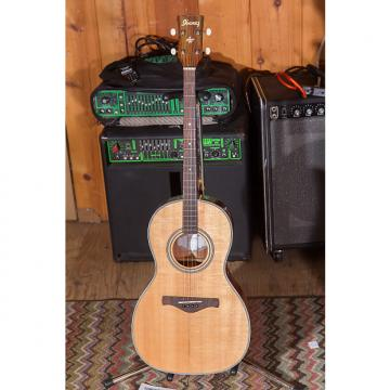 Custom Ibanez AVT1 Natural Tenor solid top Mahogany back and sides repaired top