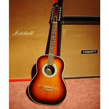 Custom 1981 OVATION 12 String guitar model #1115 with original case