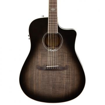 Custom Fender T-Bucket 300 Acoustic Electric Guitar with Cutaway, Rosewood Fingerboard - Trans Cherry Burst