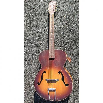 Custom Vintage Early '50s Kay Silvertone USA SOLID SPRUCE TOP Archtop BODY Guitar !