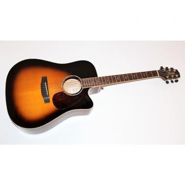 Custom Takamine EG350SC VS Sunburst Dreadnought Acoustic Electric Guitar
