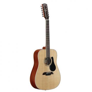Custom Alvarez AD60-12 Acoustic Dreadnaught Guitar