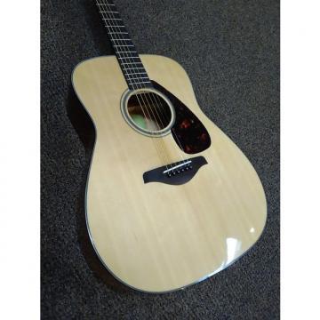 Custom Yamaha FG800 Acoustic Solid Top Acoustic Dreadnaught Natural