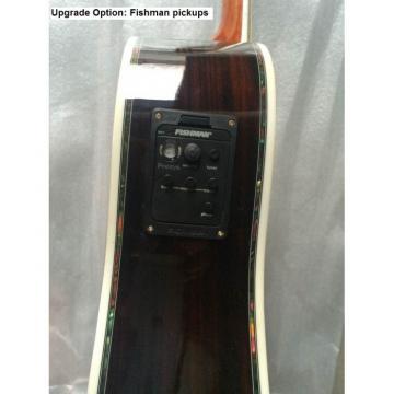 Custom martin acoustic guitar Shop martin 1833 martin guitars acoustic Martin martin guitar strings D45 martin guitars Natural Acoustic Electric Guitar Sitka Solid Spruce Top With Ox Bone Nut & Saddler