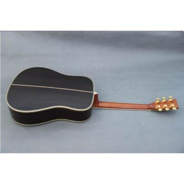 Custom dreadnought acoustic guitar Shop martin guitar strings Martin martin strings acoustic D45 martin guitar case Tobacco martin guitar strings acoustic Burst Acoustic Guitar Sitka Solid Spruce Top With Ox Bone Nut & Saddler
