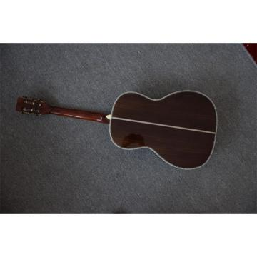 Martin 00045 Acoustic Guitar With Real Abalone Inlays and Binding Sitka Spruce Top