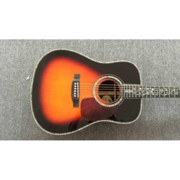 Custom Shop Martin D28 Chrome Hardware Tobacco Burst Acoustic Guitar Sitka Solid Spruce Top