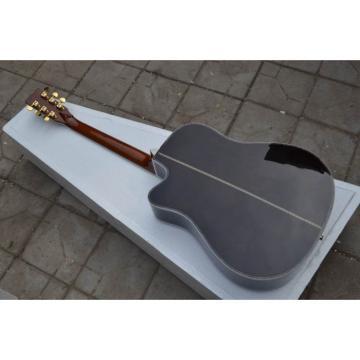 Custom Shop Tobacco CMF Martin Spruce Top Acoustic Electric Guitar