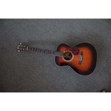 Custom Shop Martin D28 Tobacco Burst Dreadnought Acoustic Guitar Sitka Solid Spruce Top With Ox Bone Nut & Saddler
