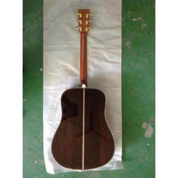 Custom Shop 1833 Martin D45 Natural Acoustic Electric Guitar Sitka Solid Spruce Top With Ox Bone Nut & Saddler