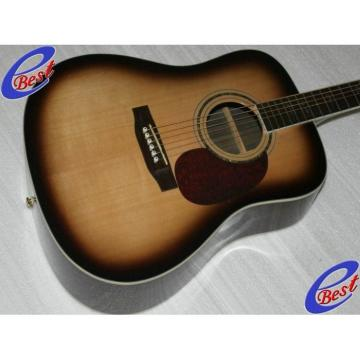 Custom martin guitars acoustic CMF acoustic guitar martin Martin martin guitar Veneer dreadnought acoustic guitar D90 martin acoustic strings Acoustic Guitar Sitka Solid Spruce Top With Ox Bone Nut & Saddler
