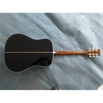 Custom 1833 Martin D45 Amber Acoustic Guitar Sitka Solid Spruce Top With Ox Bone Nut & Saddler