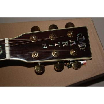 Custom martin Dreadnought martin guitars D45S martin guitar strings acoustic medium 1833 dreadnought acoustic guitar Martin guitar martin Acoustic Guitar Sitka Solid Spruce Top With Ox Bone Nut & Saddler