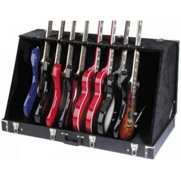 Stagg Case For 8 Electric Or 4 Acoustic Guitar