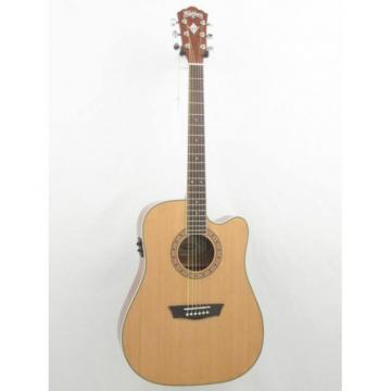 Washburn Apprentice Model WD10CE Dreadnought Acoustic Electric Guitar