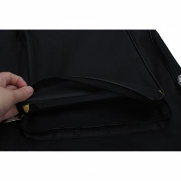 Padded Cotton Acoustic Electric Guitar Bag Black