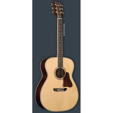 New Washburn WSD5240SK Solo Deluxe Acoustic Guitar With Hardshell Case