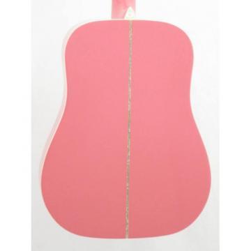 Oscar martin guitar Schmidt guitar strings martin OG1/P martin guitar strings acoustic medium Smaller martin guitars 3/4 martin guitar accessories Size Pretty Pink Acoustic Guitar