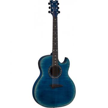 New Exhibition FM Thin Body Acoustic Electric Guitar With Aphex