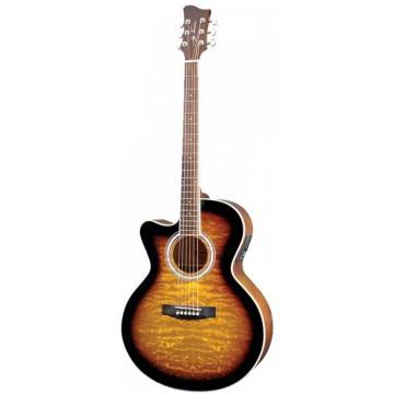 Jay martin acoustic guitar Turser martin guitar strings JTA424Q-CET martin guitar Series martin acoustic guitar strings Acoustic martin guitar case Guitar Left Handed - Tobacco Sunburst