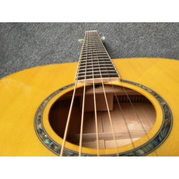 Custom martin strings acoustic Solid acoustic guitar martin Spruce acoustic guitar strings martin One martin acoustic guitars Piece dreadnought acoustic guitar Set Neck Abalone Binding Acoustic Guitar