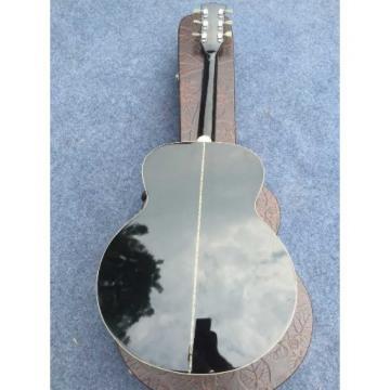 Custom martin guitar strings acoustic J180 guitar strings martin 6 martin Strings martin d45 Black martin guitar strings Star Inlays Acoustic Guitar