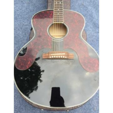 Custom martin strings acoustic J180 guitar martin 6 martin guitar strings acoustic medium Strings acoustic guitar strings martin Black martin guitar strings Pearloid Pickguard Star Inlays Acoustic Guitar