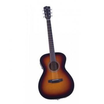 Breedlove Atlas Revival  OM/SME Burst Acoustic Guitar W/ Hardcase