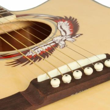"Beginner acoustic guitar martin 41"" martin guitar strings acoustic Cutaway dreadnought acoustic guitar Folk martin guitar case Acoustic martin guitar strings Wooden Guitar Natural Color"