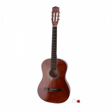 "38"" dreadnought acoustic guitar Classical martin guitar accessories Acoustic guitar strings martin Guitar martin guitar strings acoustic Brown martin guitar strings with Extra Guitar Tuner, 38"" Bag, 5 x Alice Picks, Strap, Guitar Strings Set"